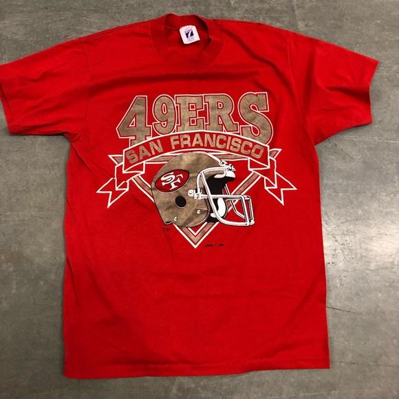 timeless design 89a26 23ca1 Vintage San Francisco 49ers t shirt